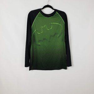 TM & DC Comics Batman Black/Neon Pullover Shirt